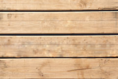 Wooden slats Stock Images