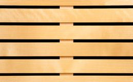 Wooden slats Stock Photo