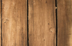 Wooden slats. Of the Catullo's ruins Royalty Free Stock Photo