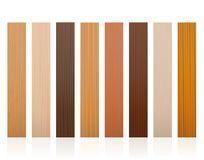 Wooden Slats Different Colors Textures Royalty Free Stock Photo