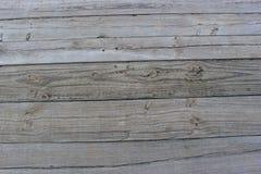 Wooden Slats. Lying horizontally on a dock Stock Photos
