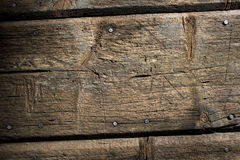 Wooden slats Stock Image