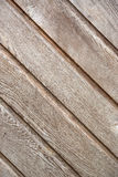 Wooden slats on the wall Stock Image