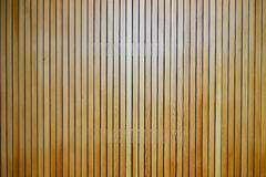 Wooden slats on a wall Royalty Free Stock Images