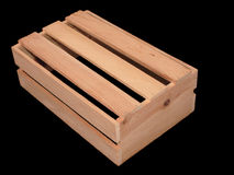 Wooden Slatted Box Stock Photography
