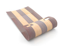 Wooden sled Stock Photography