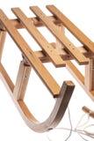Wooden sledge Royalty Free Stock Photo