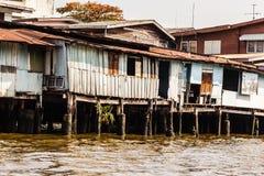 Wooden slum Royalty Free Stock Images