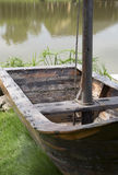 Wooden small  boat Stock Images