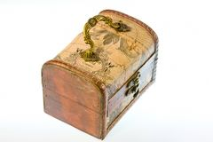 Wooden small box Stock Photography