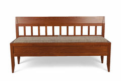 Wooden sofa Royalty Free Stock Photo