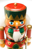 Wooden soldier Christmas nutcracker Royalty Free Stock Photo