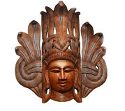 Wooden souvenirs of handwork Royalty Free Stock Images