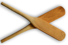 Wooden Spatula Royalty Free Stock Photos