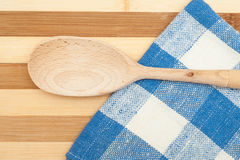 Wooden spatula Royalty Free Stock Images
