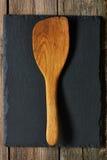 Wooden spatula Stock Image