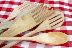 Wooden spatulas Stock Image