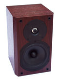 Wooden speaker Stock Images