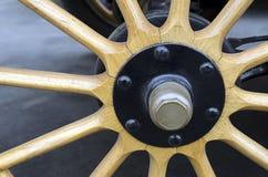 Wooden Spoke Wheel Royalty Free Stock Photography