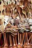 Wooden spoon Stock Photo