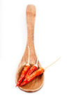 Wooden Spoon Stock Photo