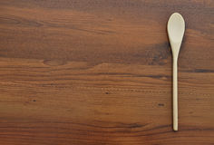 Wooden spoon background Stock Photos