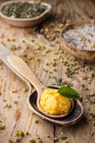 Mango body butter. Royalty Free Stock Images