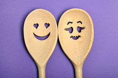 Wooden spoon Royalty Free Stock Images