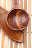 Wooden spoons, Royalty Free Stock Photos
