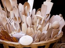 Wooden spoons Stock Image