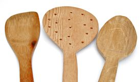 Wooden spoons Royalty Free Stock Image