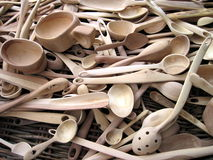 Wooden spoons Stock Photo