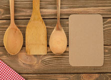 Wooden spoons Royalty Free Stock Photos
