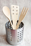 Wooden Spoons In A Jar Royalty Free Stock Photo