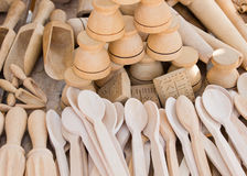 Wooden spoons Stock Photography