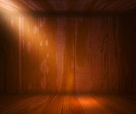 Wooden Spotlight Interior Background Stock Photography