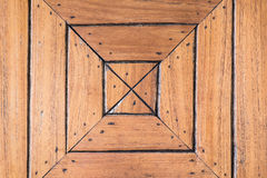 Wooden square background Royalty Free Stock Photo