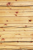 Wooden squared beam Stock Image