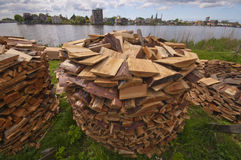 Wooden Stack Stock Images