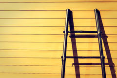 Wooden stair Stock Photography
