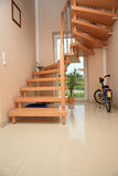 Wooden staircase. Stock Images
