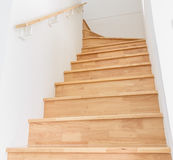Wooden staircase Stock Photos
