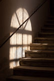 Wooden staircase Royalty Free Stock Image