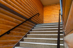 Wooden stairs Royalty Free Stock Photo