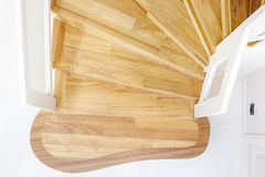 Wooden stairs Royalty Free Stock Image