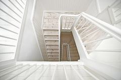 Wooden stairway Stock Photos