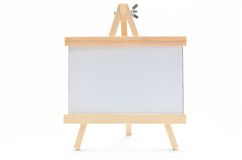 Wooden Stand frame. Stock Image