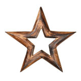 Wooden star Stock Photos