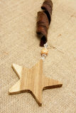 Wooden Stars Royalty Free Stock Photo