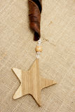Wooden Stars Stock Image